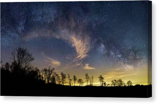 Stellar Canvas Print - Galactic Skies by Bill Wakeley
