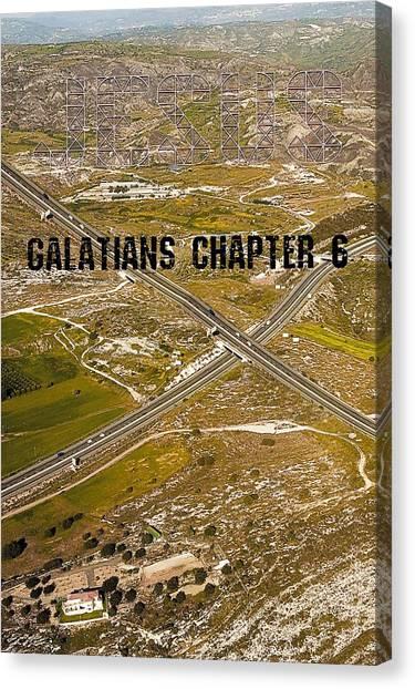 Galatians Chapter 6 Canvas Print