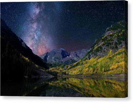 Galaxy Bells Canvas Print