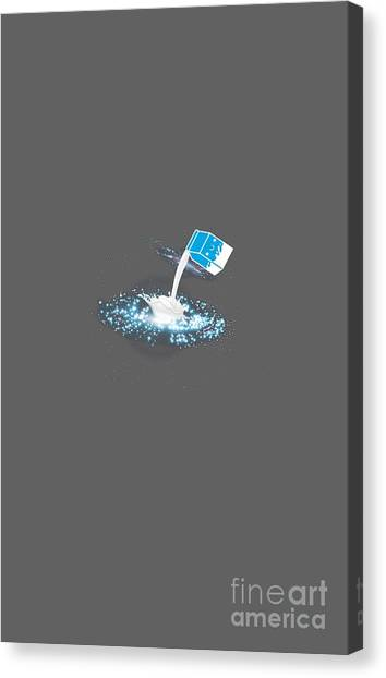 Canvas Print - Galaxy Milk Milkyway Outer Space  by Thomas Larch