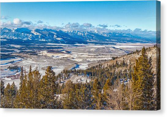 Galena Summit Idaho Canvas Print