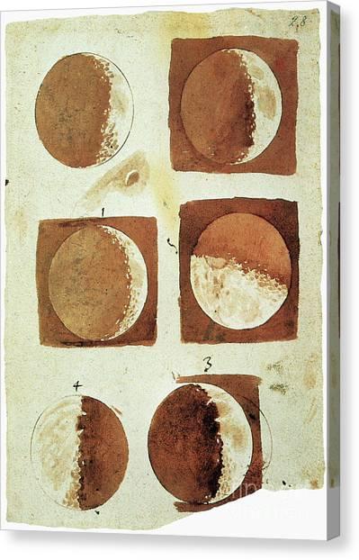 Aod Canvas Print - Galileo - Moon by Granger
