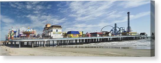 Galveston Pleasure Pier Canvas Print