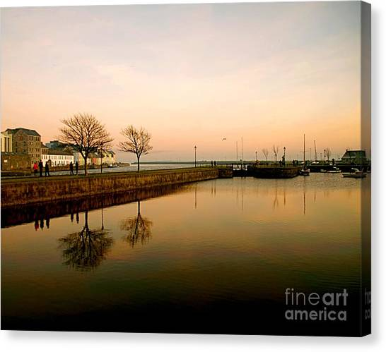 Galway Bay Sunset Canvas Print