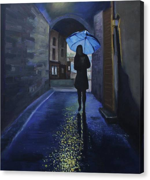 Galway Girl Canvas Print