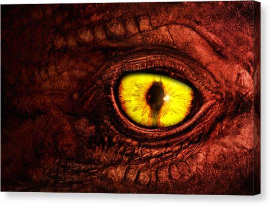 World Of Warcraft Canvas Print - Dragon by Joe Roberts