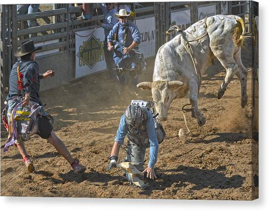 Rodeos Canvas Print - Game On! by Kirk Cypel