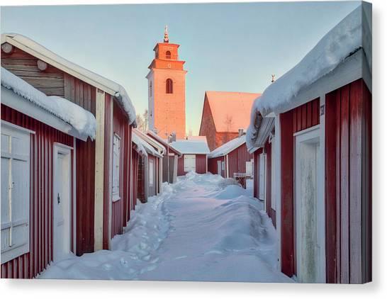 E.t Canvas Print - Gammelstad Lulea - Sweden by Joana Kruse