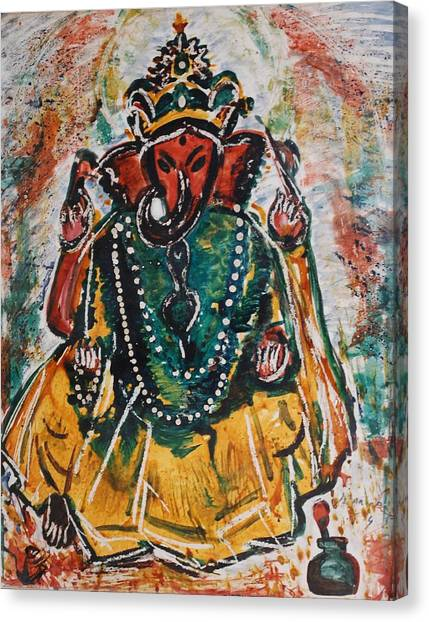 Ganesha-2 Canvas Print