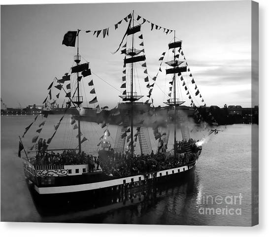 Gang Of Pirates Canvas Print