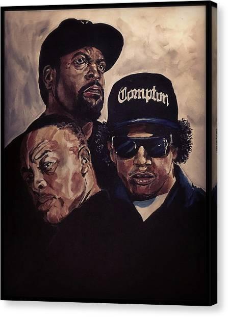 Gangsta Trinity Canvas Print