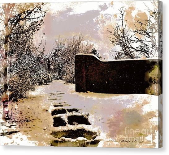 Garden Art Print  Canvas Print