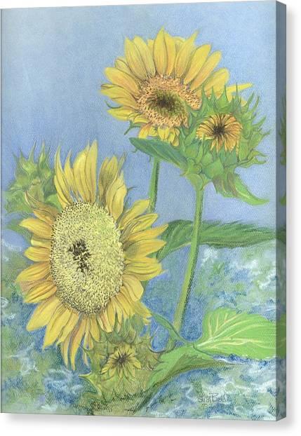 Garden Beauties Canvas Print by Lisa Bell