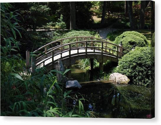 Garden Crossing Canvas Print