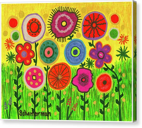 Garden Extravaganza Canvas Print