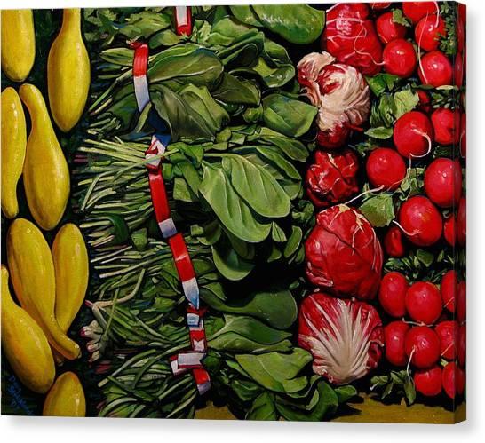 Garden Fresh Canvas Print by Doug Strickland