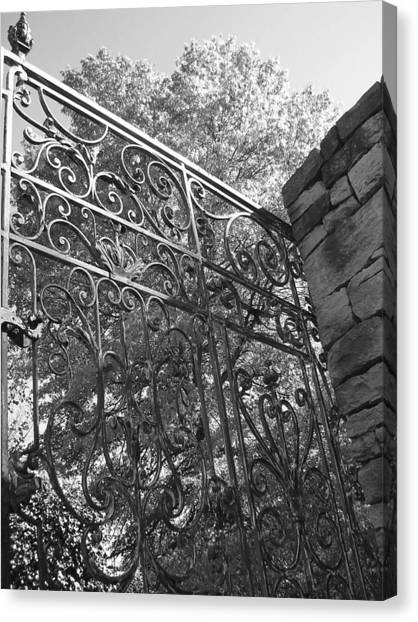 Canvas Print - Garden Gate by Audrey Venute