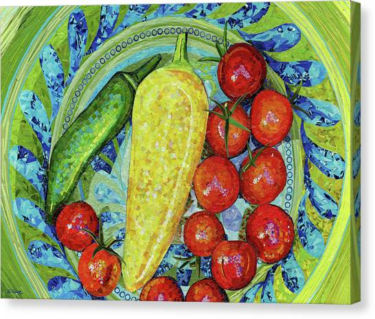 Garden Harvest Canvas Print