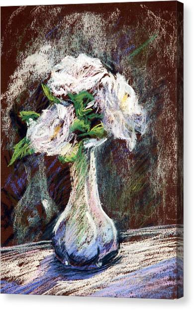 Garden Icebergs Pastel Canvas Print by Athena Mantle