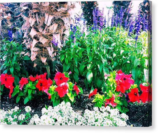 Garden Landscape 2 Version 1 Canvas Print
