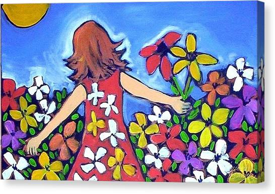 Garden Of Joy Canvas Print