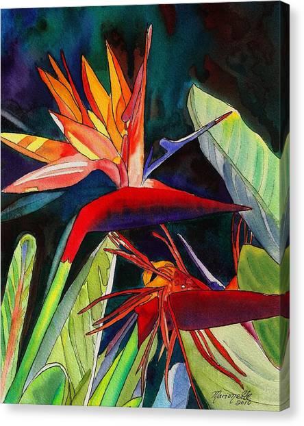 Garden Of Paradise Canvas Print