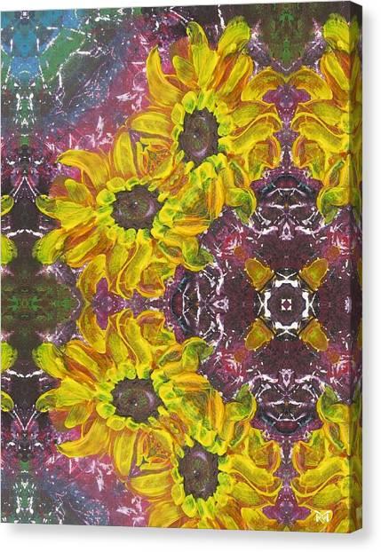 Garden Owls Canvas Print