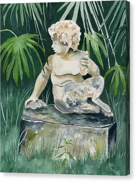 Garden Satyr Canvas Print