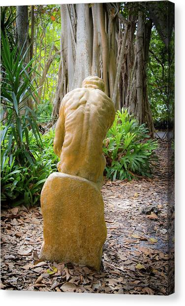 Garden Sculpture 2 Canvas Print
