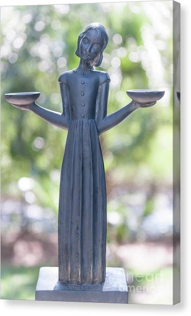 midnight in the garden of good and evil canvas print garden statue dreams by dale - Midnight In The Garden Of Good And Evil Statue