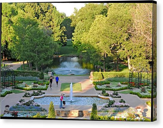 Fort Worth Water Gardens Canvas Prints (Page #4 of 5) | Fine Art America