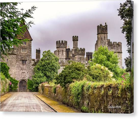 Canvas Print featuring the photograph Gardens At Lismore Castle by Claudia Abbott