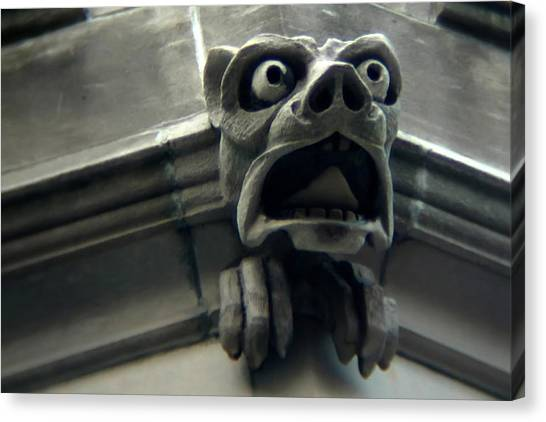 Gargoyle Canvas Print by David April