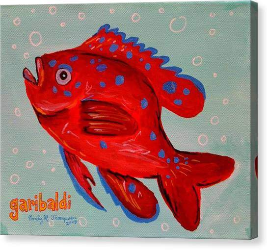 Garibaldi Canvas Print by Emily Reynolds Thompson