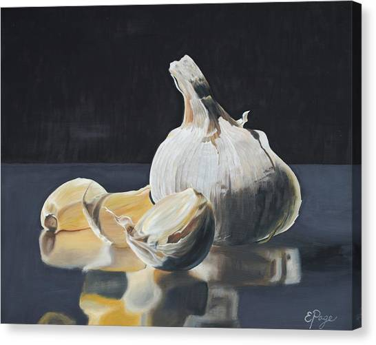 Garlic I Canvas Print
