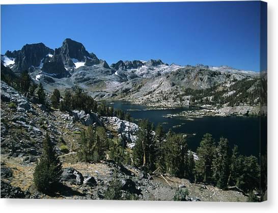 Garnet Lake And Banner Peak Canvas Print