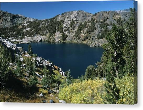 Garnet Lake Fall Color Canvas Print