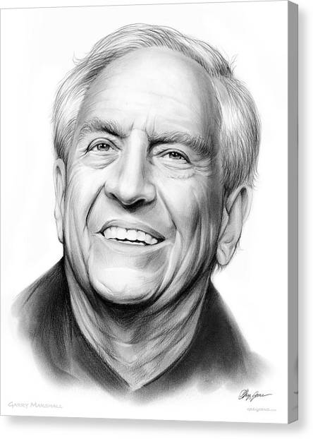 Bride Canvas Print - Garry Marshall by Greg Joens