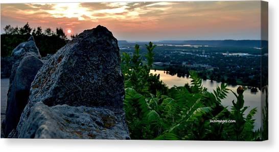 Garvin Heights Sunset Canvas Print