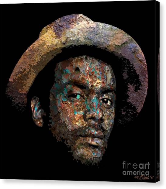 Gary Clark, Jr. No. 2 Canvas Print