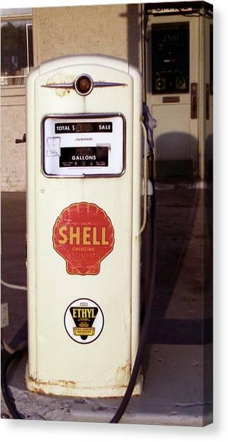Gas Pump Canvas Print