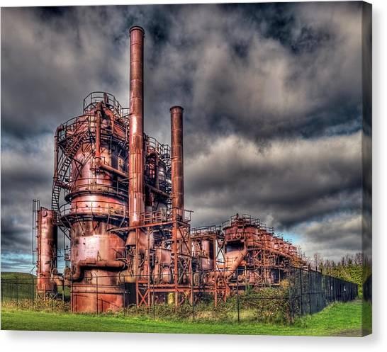Gas Works Park - Seattle Canvas Print