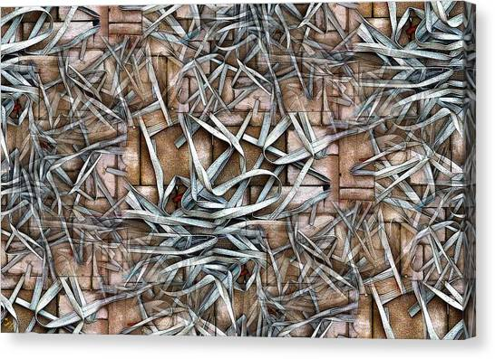 Pavers Canvas Print - Gaskets Unleashed by Ron Bissett