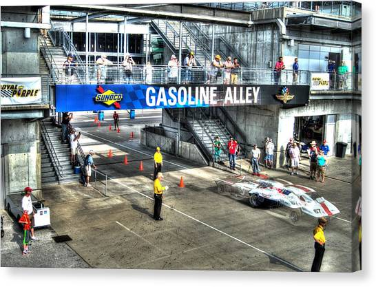 Gasoline Alley 2015 Canvas Print