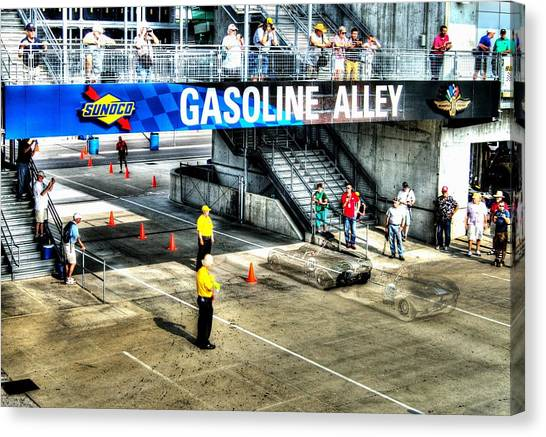 Gasoline Alley Canvas Print