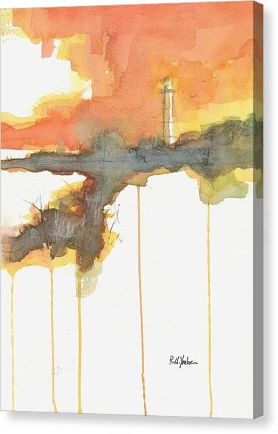 Coast Guard Canvas Print - Gasparilla Coast Guard Light II by Robert Yonke