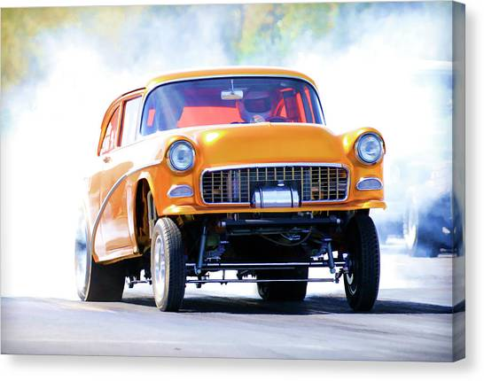 Canvas Print - Gasser Burnout by Steve McKinzie