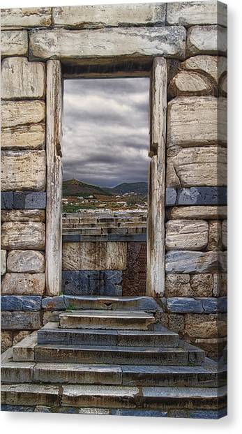 Gate To The Acropolis Canvas Print