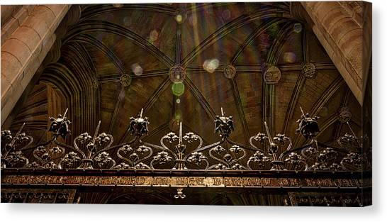 Gate To The Holy Spirit Chapel Canvas Print