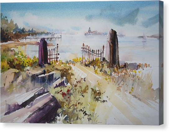 Gated Shore Canvas Print
